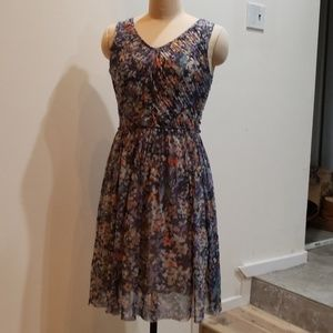 ...Made in San Francisco dress from Anthropologie